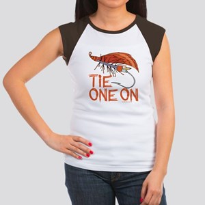 Fly Tying Women's Cap Sleeve T-Shirt