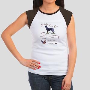 Austalian Cattle Dog Women's Cap Sleeve T-Shirt