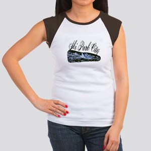 Ski Park City Women's Cap Sleeve T-Shirt