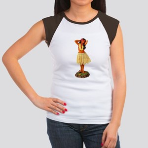 b97a3e08b Hula Girl Women's Cap Sleeve T-Shirts - CafePress