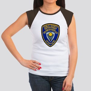 Sunnyvale Public Safety Women's Cap Sleeve T-Shirt