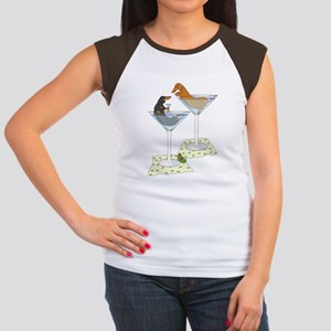 cocktailwienersduo8x10whitetext T-Shirt
