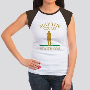 May The Course Be With You Women's Cap Sleeve T-Sh