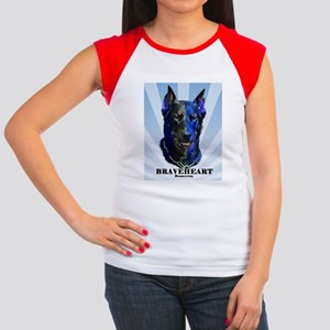Braveheart Dark #1 Women's Cap Sleeve T-Shirt