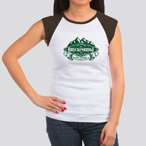 Breckenridge Mountain Emblem Women's Cap Sleeve T-