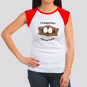 Twin Pregnancy Women's Cap Sleeve T-Shirts - CafePress