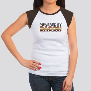 Bacon Power Women's Cap Sleeve T-Shirt