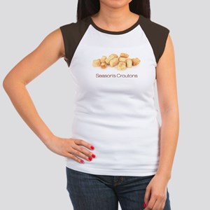 Season's Croutons Women's Cap Sleeve T-Shirt