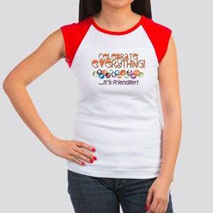 Celebrate Everything Women's Cap Sleeve T-Shirt