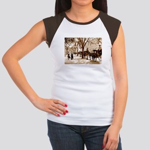 New York Vintage Women's Cap Sleeve T-Shirt