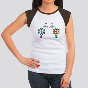 I Lost An Electron Are You Po Women's Cap Sleeve T