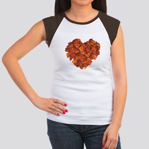 Bacon Heart - Women's Cap Sleeve T-Shirt