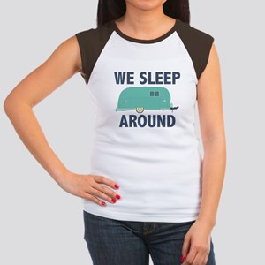 We Sleep Around Women's Cap Sleeve T-Shirt