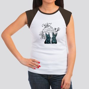 Scottish Terrier Proverb Women's Cap Sleeve T-Shir
