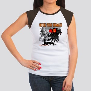 Headless Horseman Women's Cap Sleeve T-Shirt