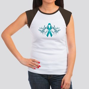 Teal RibbonDark T-Shirt