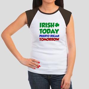 42112e2a7 Funny Puerto Rican Women's Cap Sleeve T-Shirts - CafePress