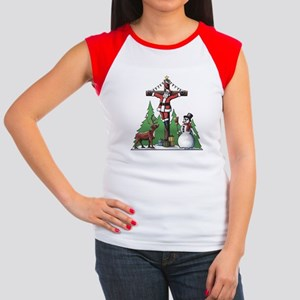Santa Cross Women's Cap Sleeve T-Shirt