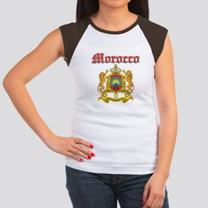 Morocco designs Women's Cap Sleeve T-Shirt