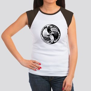 White and Black Yin Yang Scorpions T-Shirt