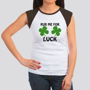 Rub Me For Luck Women's Cap Sleeve T-Shirt