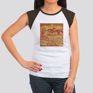 Cranberry Toile T-Shirt