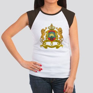 Morocco Coat Of Arms Women's Cap Sleeve T-Shirt