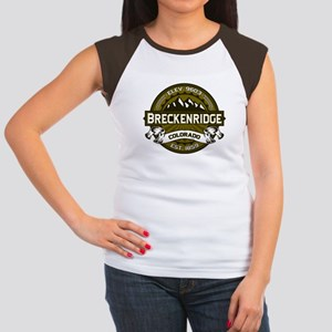 Breckenridge Olive Women's Cap Sleeve T-Shirt