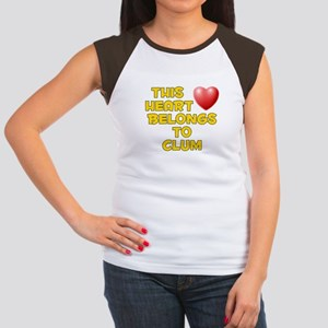 This Heart: Clum (D) Women's Cap Sleeve T-Shirt