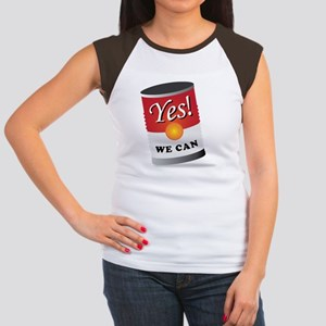 yes we can! Women's Cap Sleeve T-Shirt