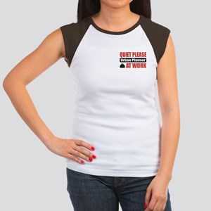 Urban Planner Work Women's Cap Sleeve T-Shirt
