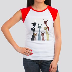 Aroostook Stray Cats  Women's Cap Sleeve T-Shirt