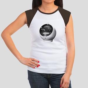 NF Weltron-white Women's Cap Sleeve T-Shirt