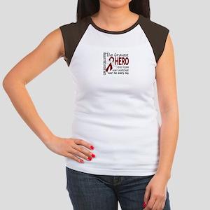 Sickle Cell Anemia Brav Women's Cap Sleeve T-Shirt