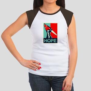 Ivory-Billed Hope Women's Cap Sleeve T-Shirt