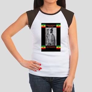 Haile-Selassie-Jah_Rast Women's Cap Sleeve T-Shirt