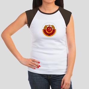 USSR Cosmonaut Women's Cap Sleeve T-Shirt