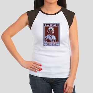 Twain - Patriotism Junior's Cap Sleeve T-Shirt