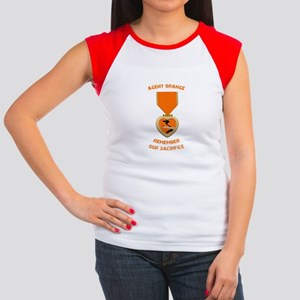 Agent Orange Women's Cap Sleeve T-Shirt