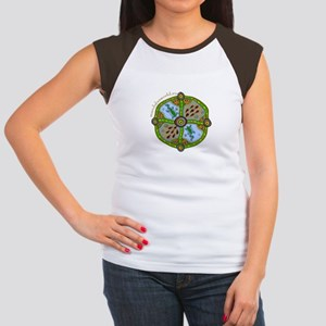 Aboriginal Mandala n1 Women's Cap Sleeve T-Shirt