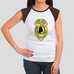 Alabama Highway Patrol Women's Cap Sleeve T-Shirt