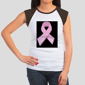 PinkGingRibBjr Women's Cap Sleeve T-Shirt