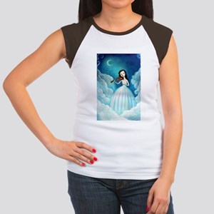 Girl with Moon and Violin T-Shirt
