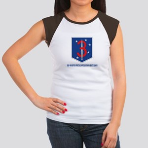 3d Marine Special Operations Bn with Text Women's