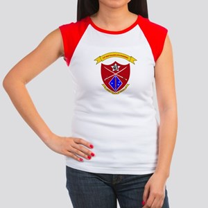 1st Battalion 5th Marines Women's Cap Sleeve T-Shi