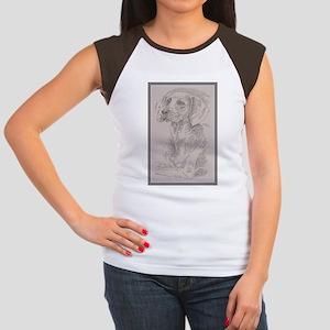 Weimaraner Women's Cap Sleeve T-Shirt