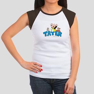 Tater Women's Cap Sleeve T-Shirt