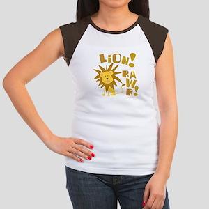 Lion Rawr Women's Cap Sleeve T-Shirt
