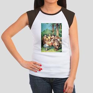 Alice and the Dodo Bird Women's Cap Sleeve T-Shirt