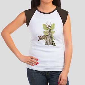 Reindeer Guardian victo Women's Cap Sleeve T-Shirt